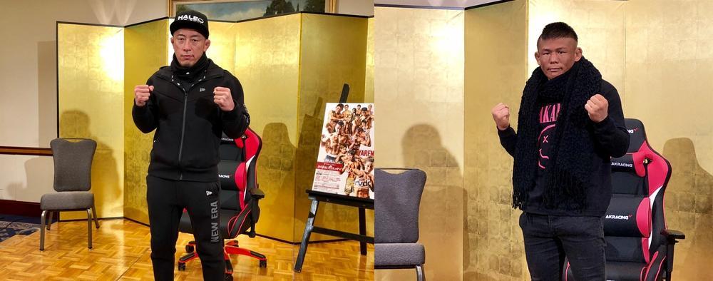 【RIZIN】川尻達也「日本発の総合格闘技を、僕と北岡悟で締めたい」、北岡悟「『これから』以上に『今』が大事。『今』頑張ることが『これから』に繋がる」=12.31「RIZIN 平成最後のやれんのか!」さいたま