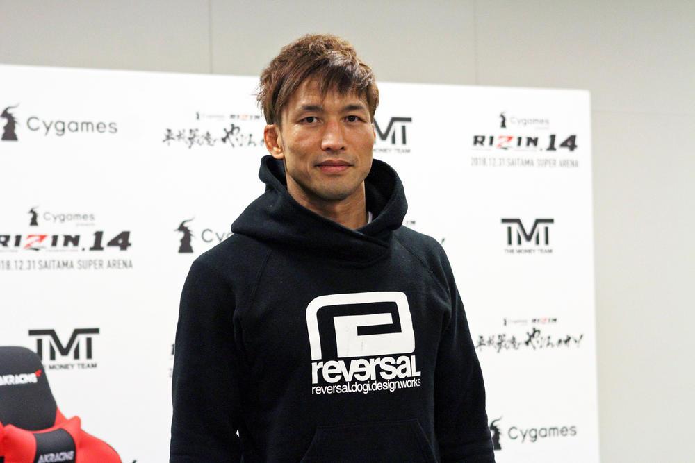 【RIZIN】宮田和幸「アーセンもいいところだけを見ずに、(総合格闘技を)続けてもらいたい」×アーセン「肩の手術して、恐怖症ぽくなっていたけど、『やっぱり格闘技やりたいわ』という気持ちに変わった」=12.31「RIZIN.14」