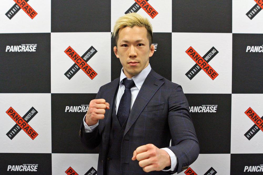 【PANCRASE】田中路教が1戦限りのPANCRASE参戦「快く組んでいただいた、その思いに結果で返していきたい。UFCに行きたいという気持ちに変わりはありません」=3月17日「PANCRASE 303」スタジオコースト