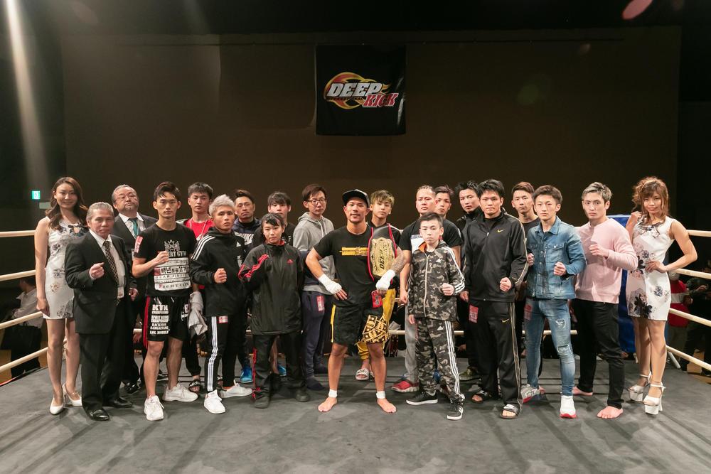【DEEP☆KICK】中村寛が衝撃KOで新王者に、7.21RISE大阪出場へ。宮崎就斗が雄大にTKO勝利、横野洋が泰良拓也に判定勝ちで決勝進出