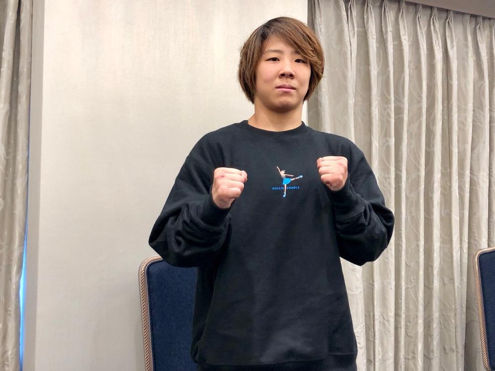 【RIZIN】緊急出場の村田夏南子「1日1日の練習を試合だと思ってやってきた。試合をその練習だと思ってやればいい」