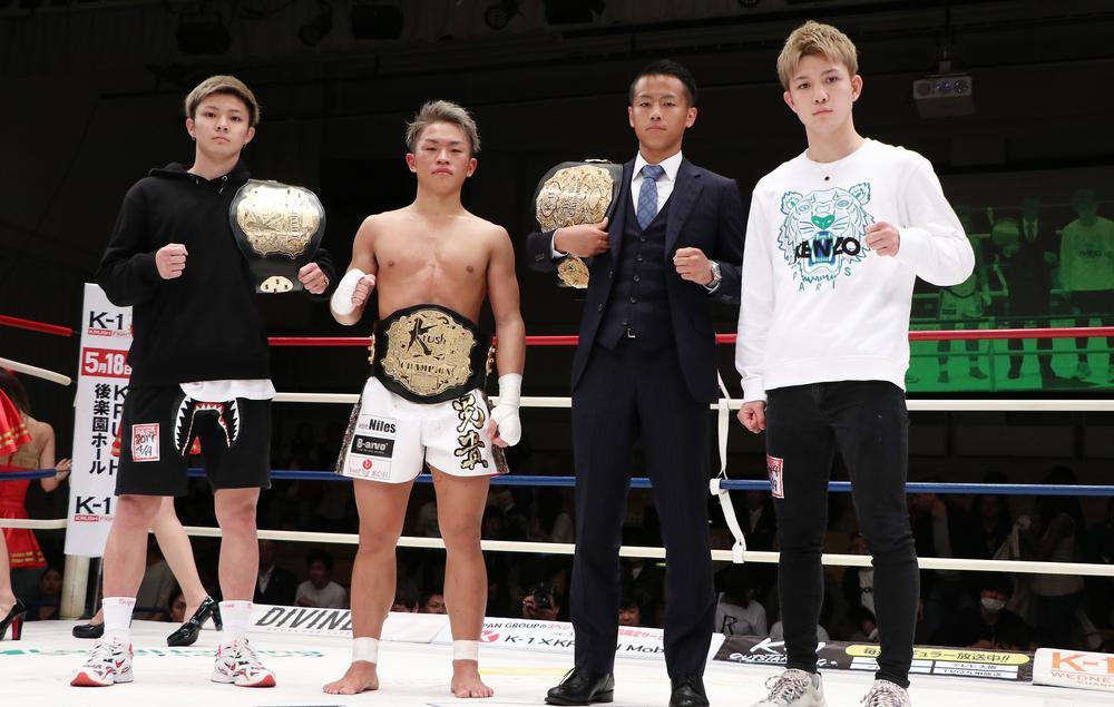 【K-1】世界最強決定トーナメント出場の日本人4名決定、優勝宣言の武居由樹に包囲網