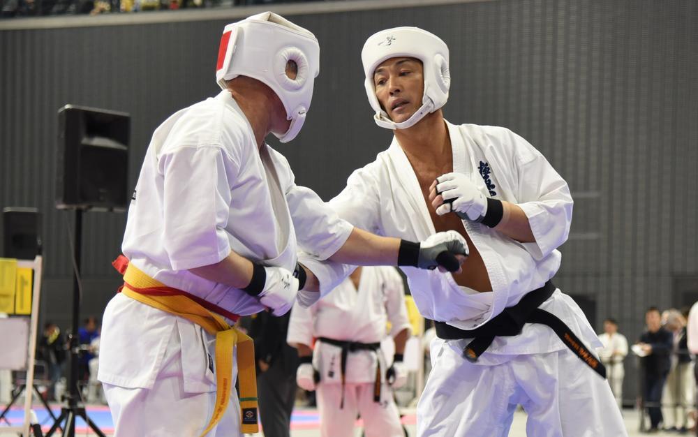 【極真会館】長嶋一茂が空手国際大会に出場、優勝逃すも3位に入賞