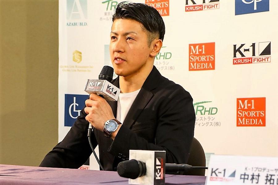 【KRUSH】元ボクサーをハイキックでKOした山際和希「日本人最強の野杁正明に挑戦したい」