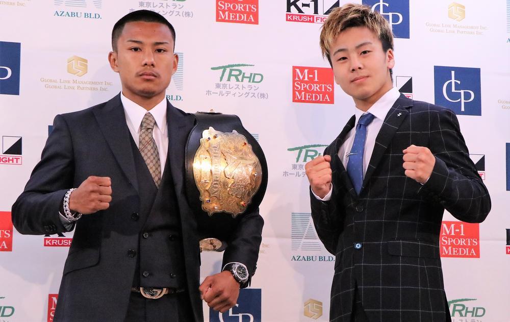 【KRUSH】江川優生がTETSUの挑戦を受け初防衛戦「こんなところで止まれない」