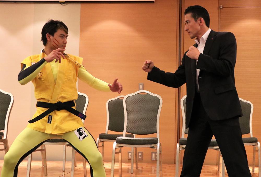 【巌流島】リアル・ボディガード冨岡雅人、ボディガードがもし戦わばを見せる