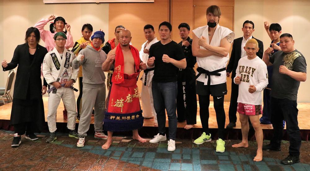 【巌流島】修斗、柔術、空手、ムエタイ、喧嘩、空手、酔拳、そしてニャンニャン拳法が集う