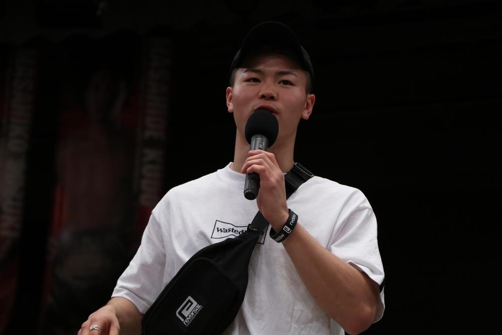 【RISE】那須川天心、夏の3連戦へ向け「格闘技を盛り上げるために何でもします」