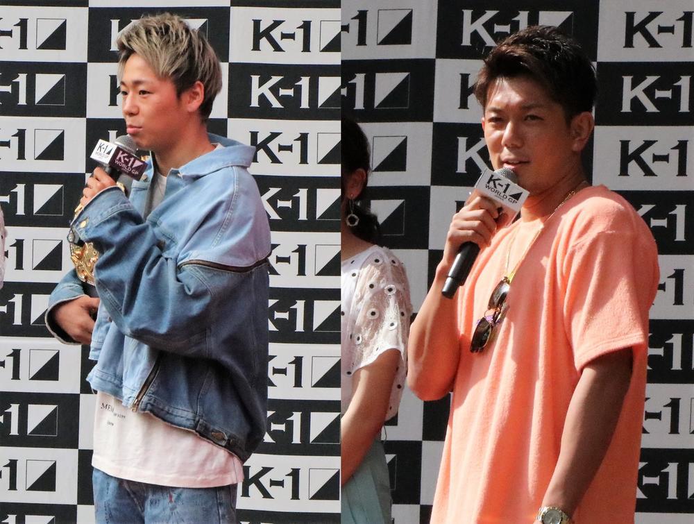 【K-1】武尊と皇治が格闘代理戦争での騒動を謝罪、21日に釈明会見