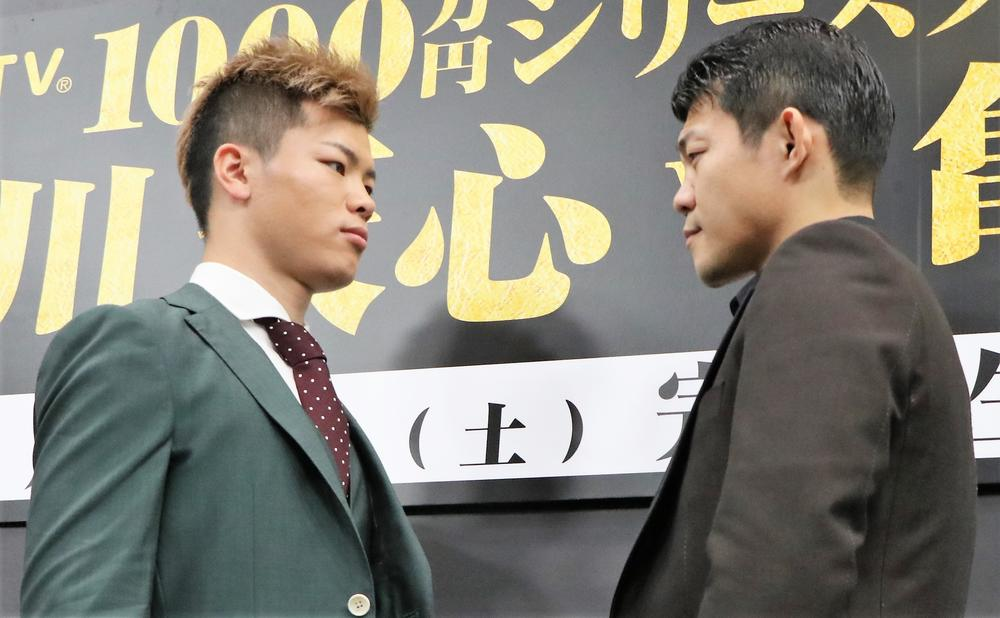 那須川天心vs亀田興毅、那須川は「リスクを背負って倒しに行くしかない」、亀田は「自信がなかったらここには来ない」