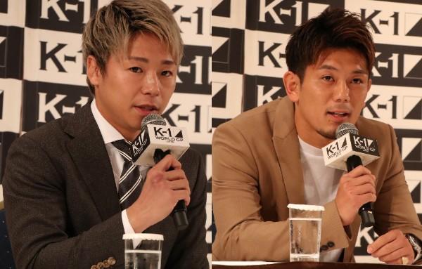 【K-1】武尊と皇治が格闘代理戦争での騒ぎの事情を説明、両選手には厳重注意