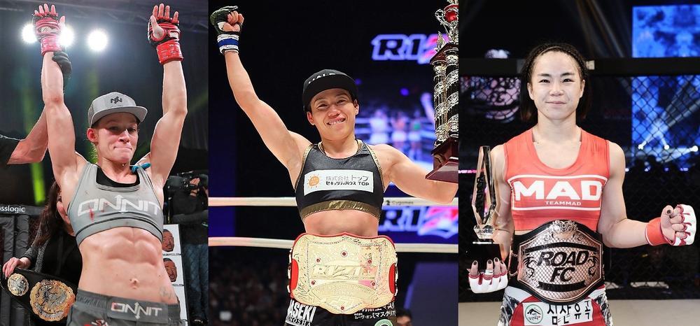 【RIZIN】3人の女王が神戸に集結! 浜崎、フレイ、ソヒを巡る物語、再び