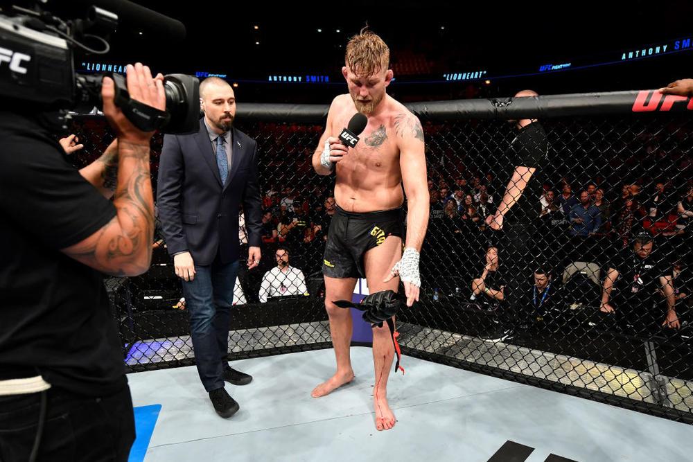 【UFC】スミスが一本勝ち、負けたグスタフソンは引退を示唆「最強になれないのならしょうがない」=6.1 UFN ストックホルム勝者コメント