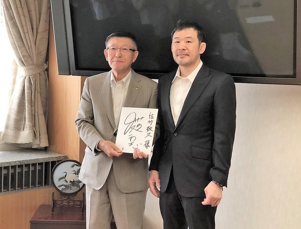 【QUINTET】桜庭和志が秋田県スポーツ大使に就任。秋田県庁で「QUINTET」開催を打診