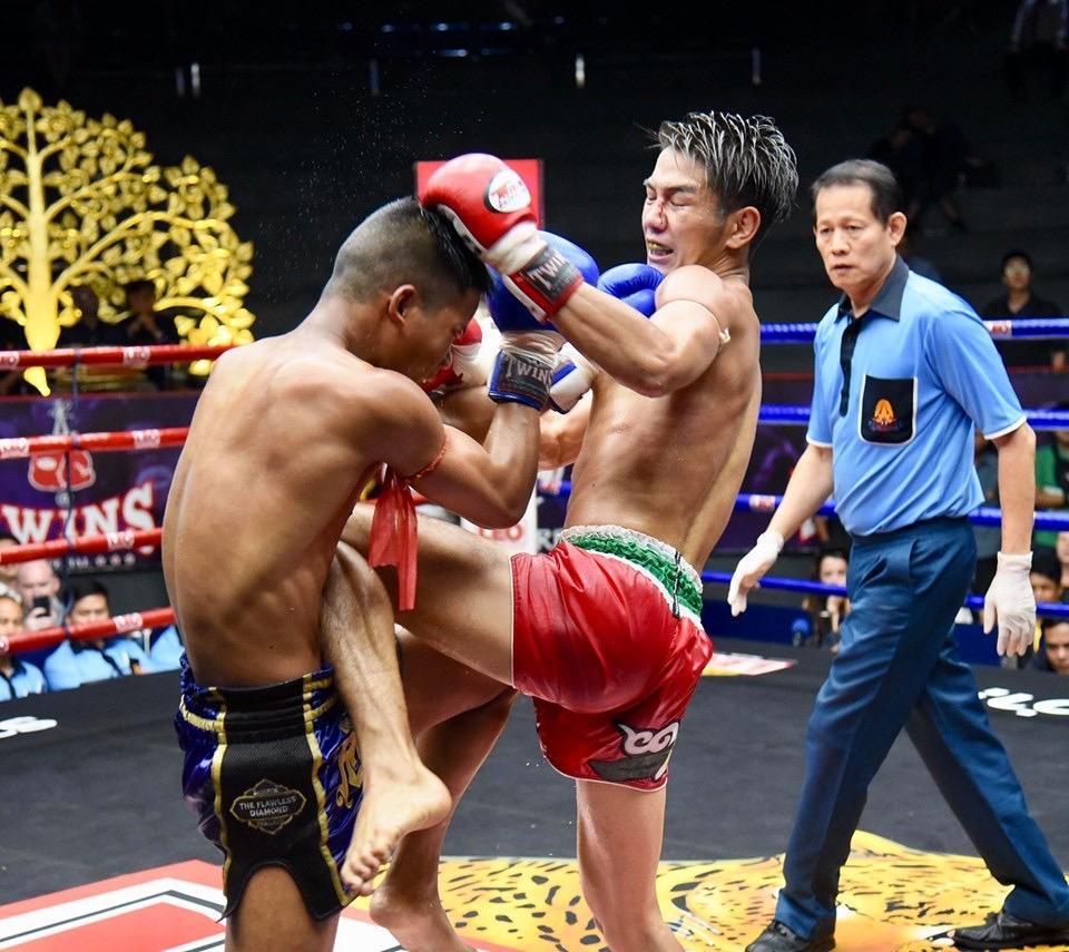 【ムエタイ】危険なサムライ福田海斗が判定で敗れるも相手はアバラ8箇所骨折、肺が傷ついて空気が漏れ、額を18針縫合