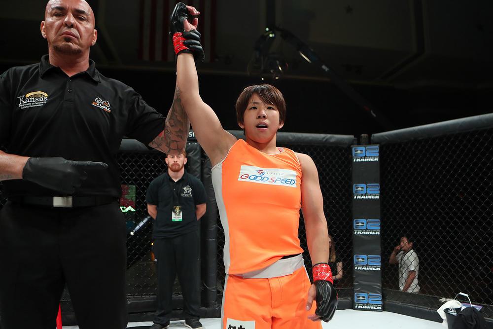 【INVICTA】村田夏南子が米国でビッグインパクト! 必然の「アドリブ」で一本勝ち