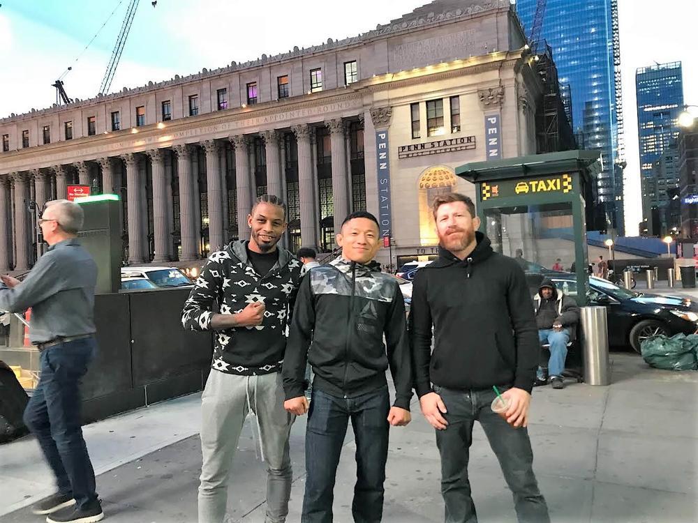 """【Bellator】堀口恭司、仮想コールドウェルとともにNY入り「""""日本人も強いんだぞ""""というところを見せたい」"""