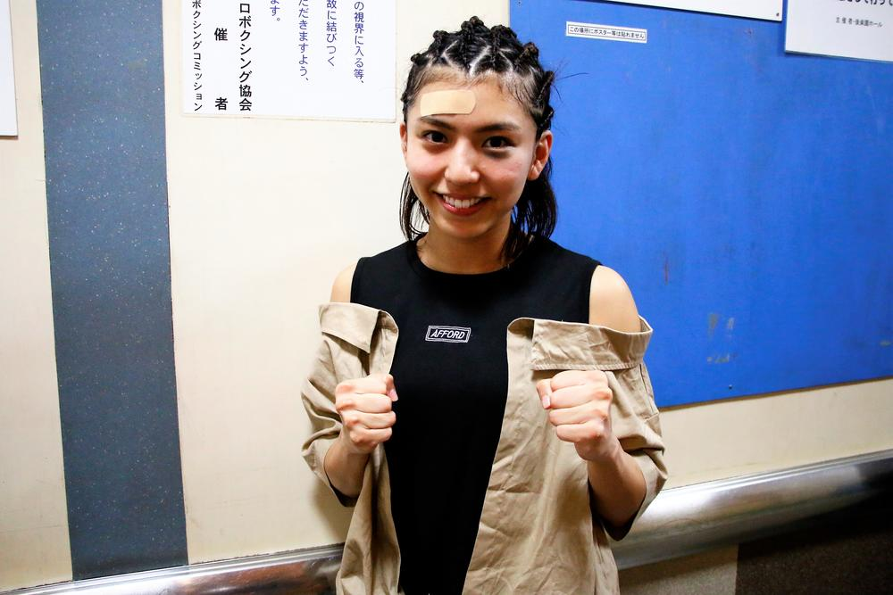 【KNOCK OUT】ぱんちゃん璃奈、美貌に「人生で初めて顔にアザを付けられた」が「次はKOを狙っていきたい」