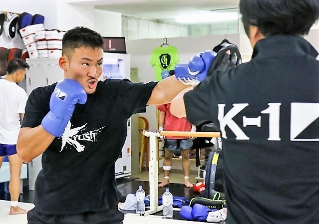 【K-1 KRUSH】vs日本人無敗の王者に挑戦する神保克哉「ピケオーが倒れる瞬間しかイメージできていない」