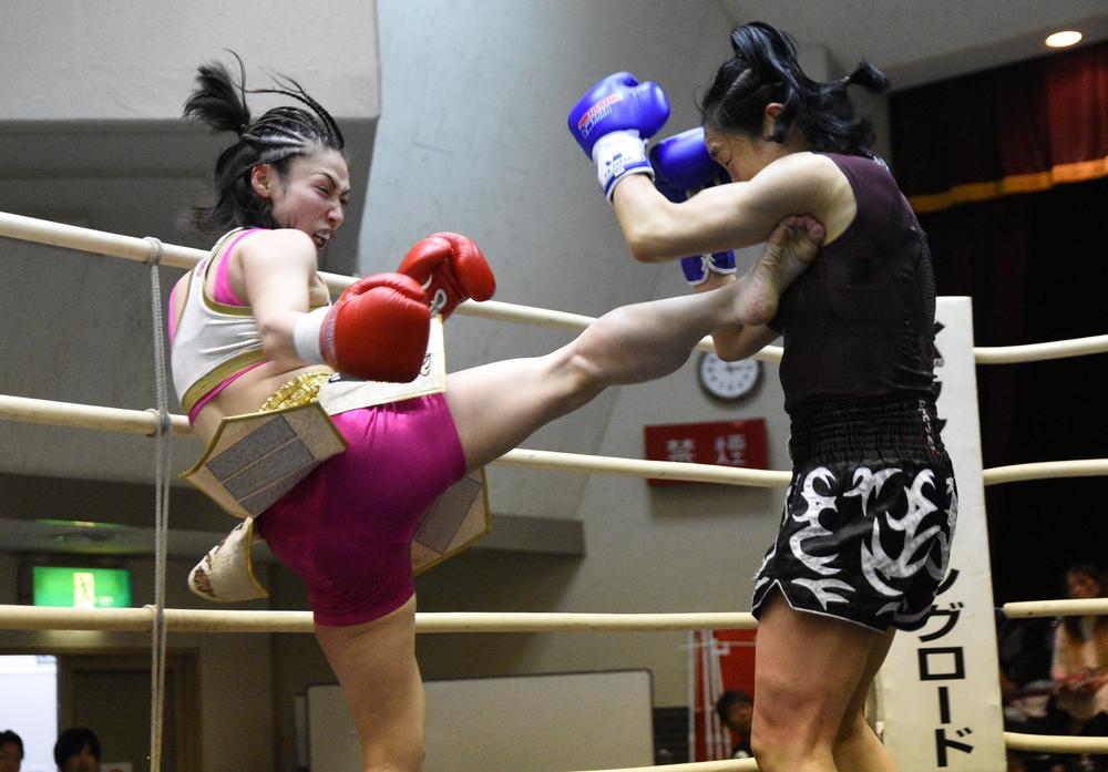 【ミネルヴァ】初の女子単独キック大会、百花がメインで元韓国王者破り「女子キックボクシング私が盛り上げる」