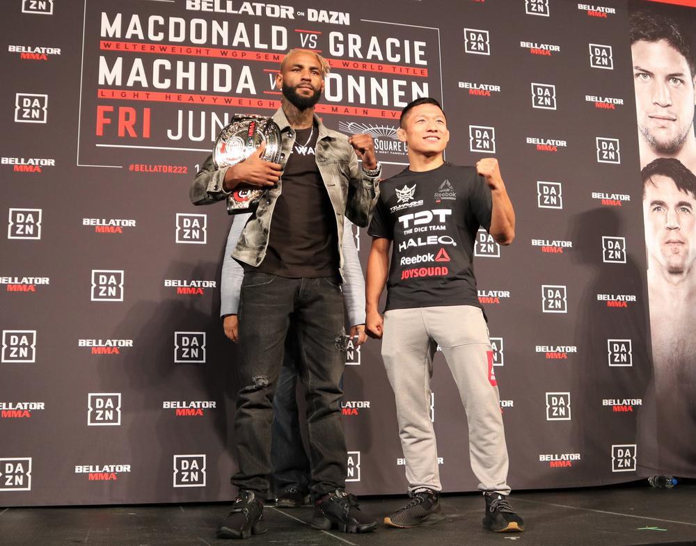 【Bellator】堀口恭司がRIZINグローブで公開練習「違う選手だと思って自分も戦います」