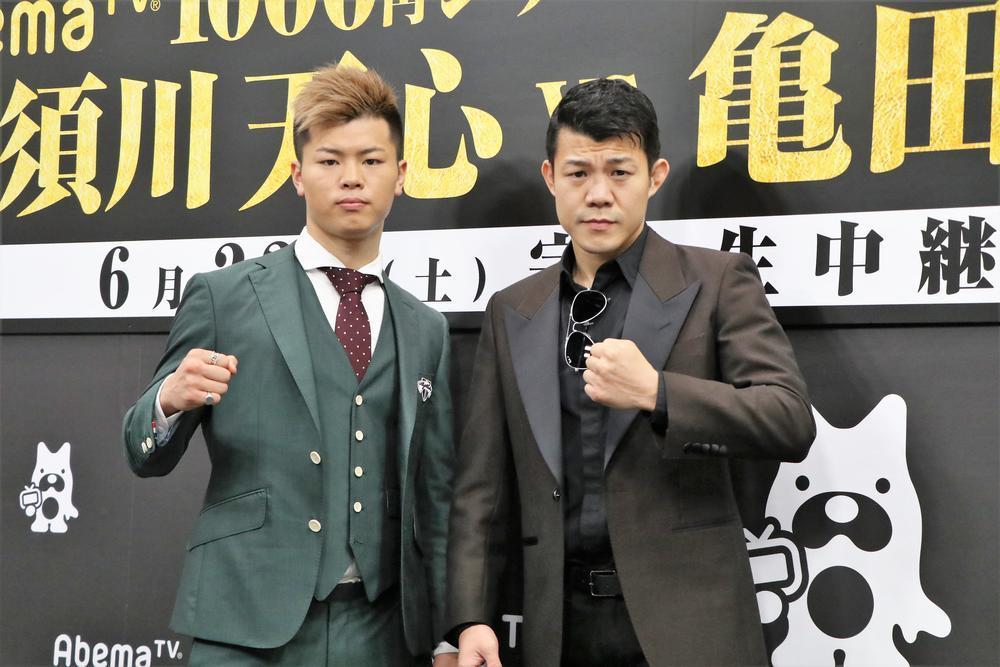 那須川天心vs亀田興毅、視聴者の勝敗予想は那須川がややリード