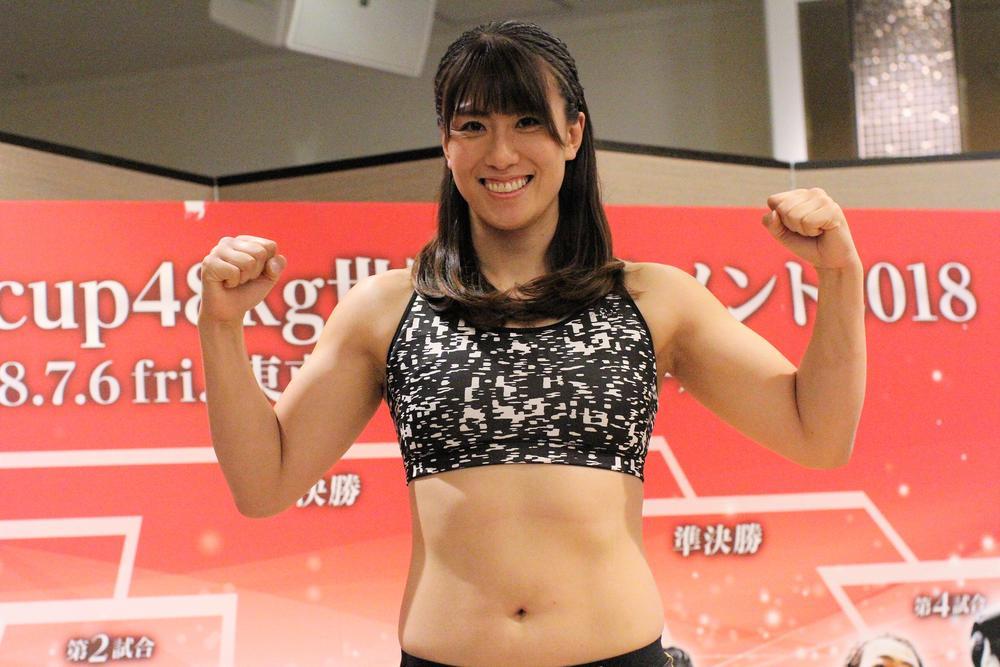 """【シュートボクシング】""""東北の剛腕美女""""未奈、韓国ボクサーを相手にフルボッコ宣言"""