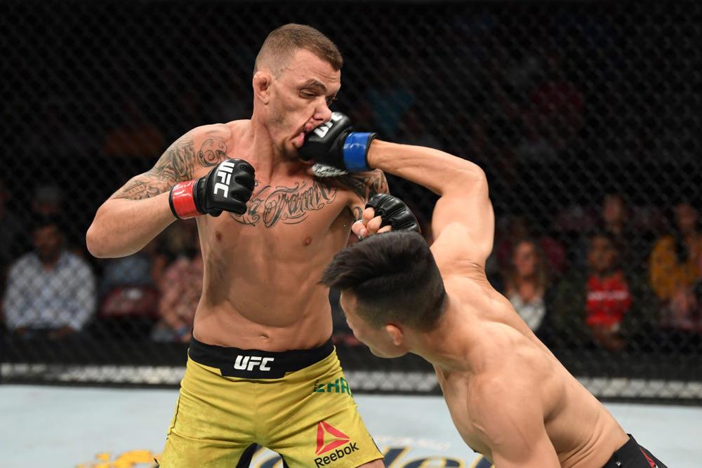 """【UFC】""""コリアンゾンビ""""チャンソンがモイカノに58秒TKO勝ち、朱里は判定負け"""