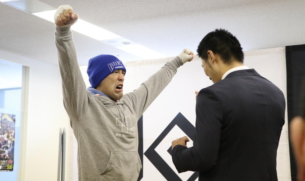 【KNOCK OUT】吉野友規の剣道日本一の実績を聞いたロッキー川村「過去はゴミだ」