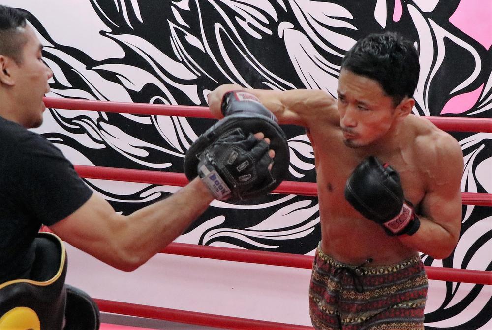 【RISE】梅野源治、チャンヒョン・リーと「あえて打ち合ってもいい。パンチでも勝てる」