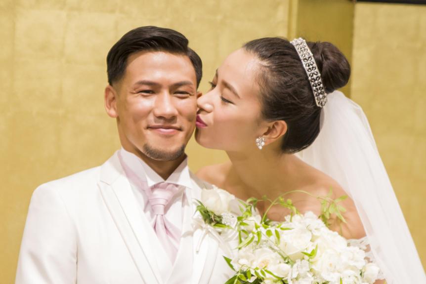 【K-1】新妻・高橋ユウ、夫・卜部弘嵩のタキシード姿に「すっごくときめいちゃった」とのろける