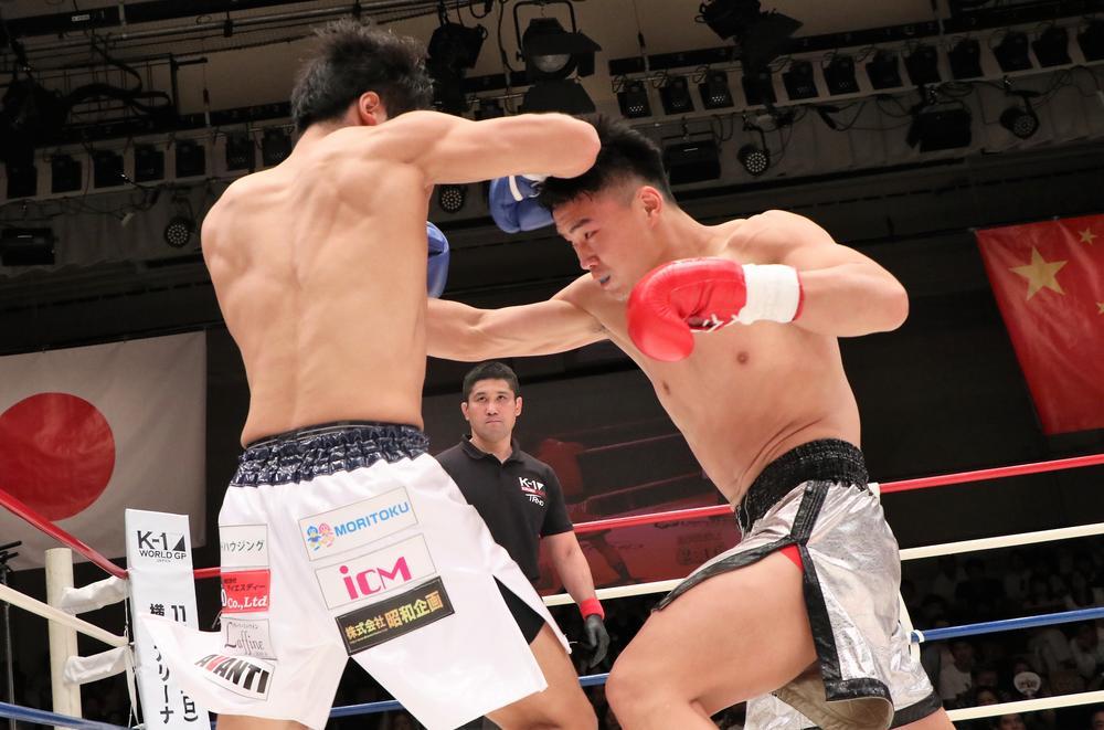 【K-1 KRUSH】卜部功也が衝撃の秒殺KO負け、対抗戦は4勝3敗で中国チームが勝利
