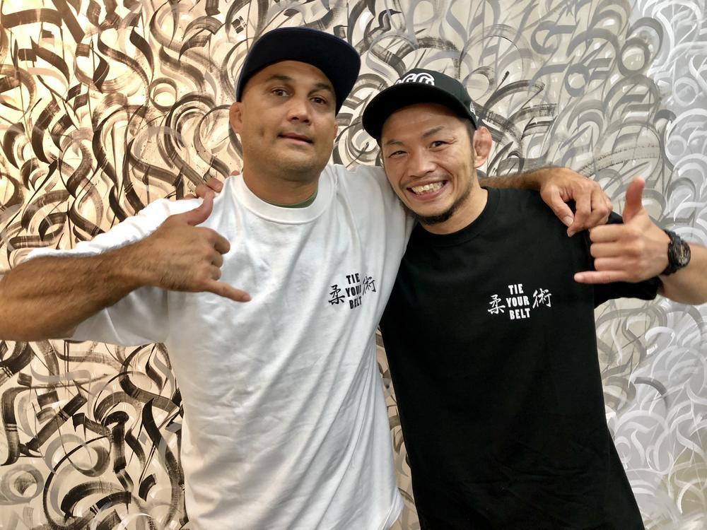 【BJJ】宇野薫がBJペンと再会、『ゴング格闘技』で対談