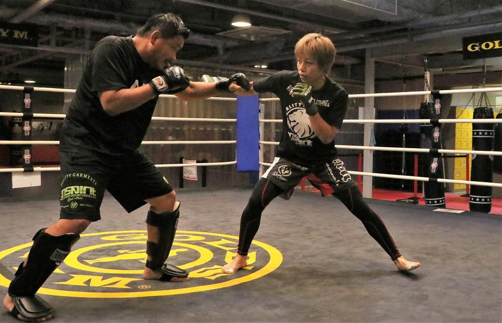 【RIZIN】浜崎朱加、150段の階段10本ダッシュで鍛える「今回も挑戦者のつもりでやります」