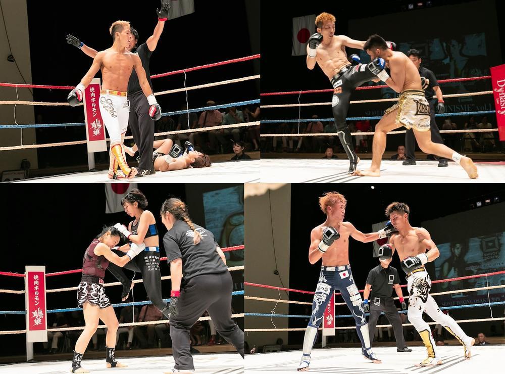 【SHOOT BOXING】植山征紀、深田一樹がKO勝ちの競演、女神は前MAX FC王者を圧倒=8.10 大阪