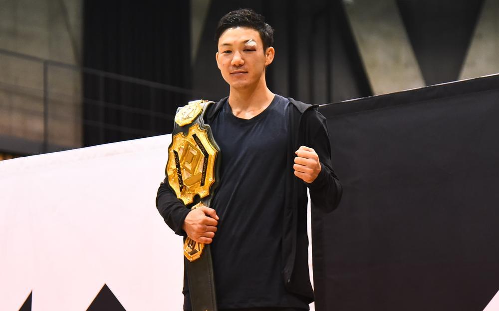 【KNOCK OUT】新王者・江幡塁が強豪迎撃に意欲、那須川天心について「そういう選手たちと交わっていけば、やっぱり盛り上がる」