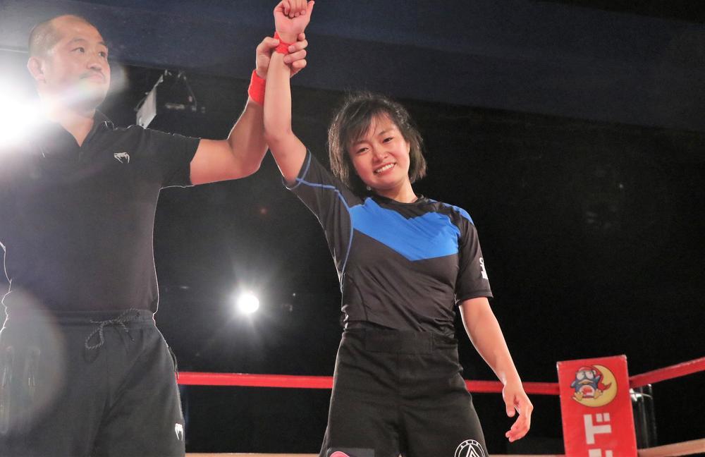 【DEEP】スーパー女子高生・森さくらが1日2連勝、高崎栞に一本勝ちで決着。男子4試合も熱戦相次ぐ