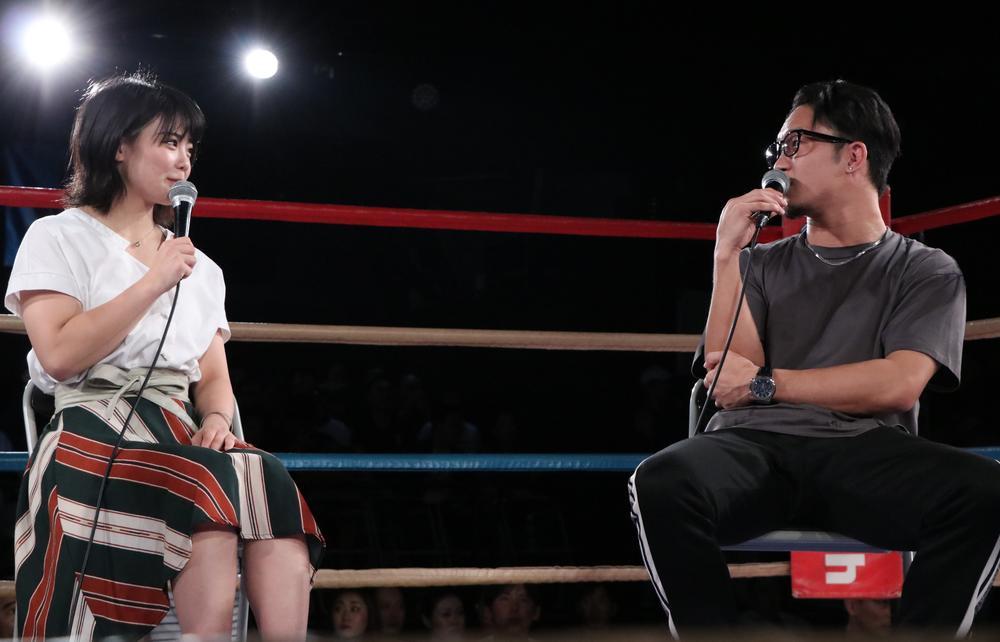 【DEEP JEWELS】朝倉未来が川村虹花に強くなるためのアドバイス、戦いたい相手にはマクレガーの名を出す