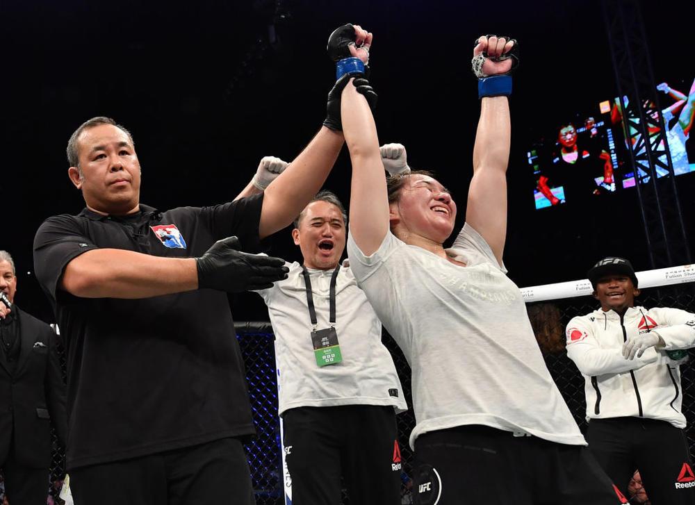 【UFC】UFCデビュー戦勝利の魅津希、階級上の緊急オファー&対戦相手の体重超過も「フライ級に留まるなら、もっと強くならないといけない」