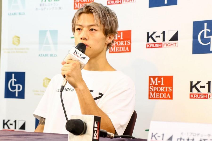 【K-1 KRUSH】金子晃大、復帰戦に勝利も納得いかず「もっとしっかり相手を倒せるようなものを身につけて、また試合をしたい」
