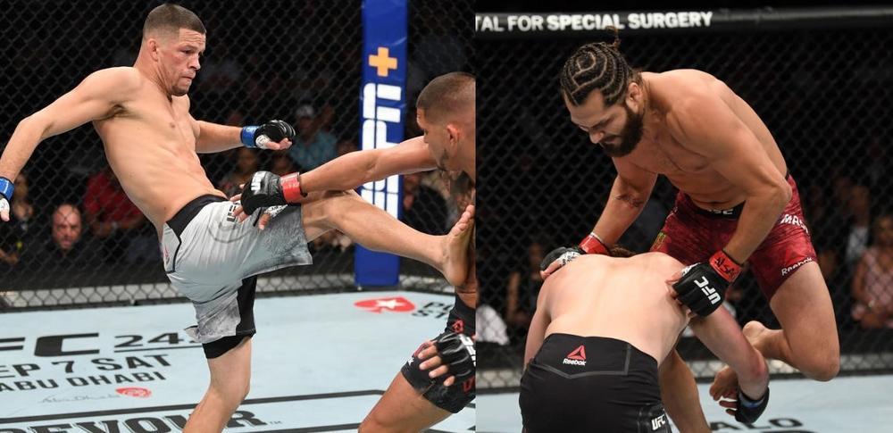 【UFC】11月2日、ニューヨークMSGでネイト・ディアス vs. ホルヘ・マスヴィダルが決定=「UFC 244」