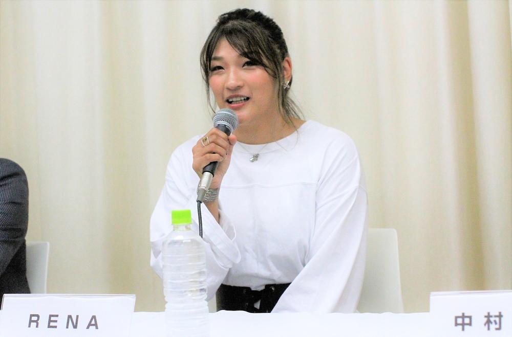 【RIZIN】RENAが10月12日『RIZIN.19』大阪大会で復帰「初心に戻って打撃を活かした戦い方を確立したい」