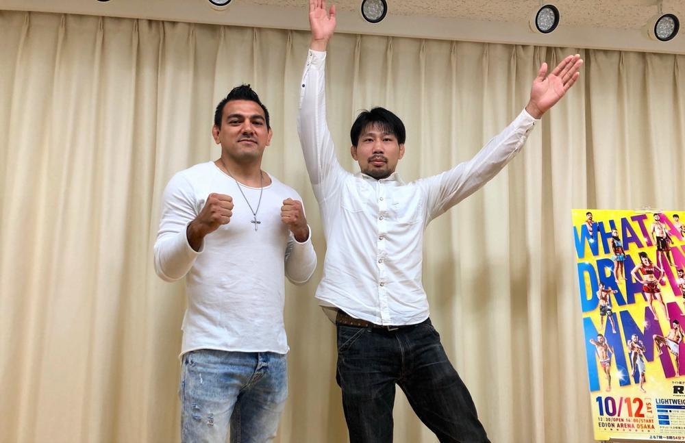 【RIZIN】元UFCの中村K太郎が初参戦、サトシの兄マルコス・ソウザと対決「裸絞めで勝ちたい」=10月12日(土)「RIZIN.19」大阪