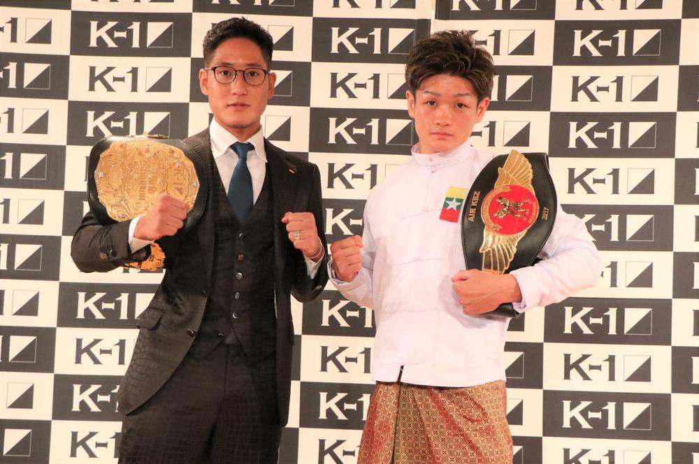 【K-1】K-1ファイヤーvsラウェイサンダー、林健太vsラウェイ王者・金子大輝の異種格闘技戦が決定