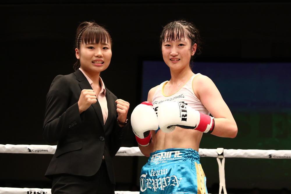 【RISE】寺山日葵と王座争う佐藤レイナ「RISE女子初の二階級制覇を目指します」