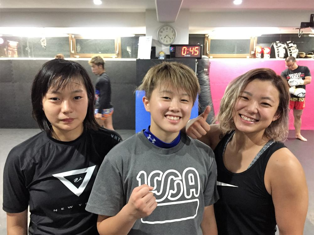 【DEEP JEWELS】古瀬美月がライバル平田樹と合同練習!