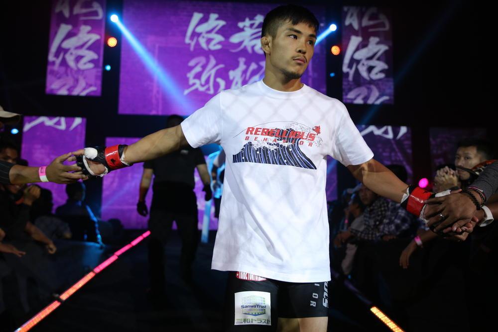 【ONE】若松佑弥「日本大会で連敗はヤバい。どのパンチ・キックでも相手を粉砕します」