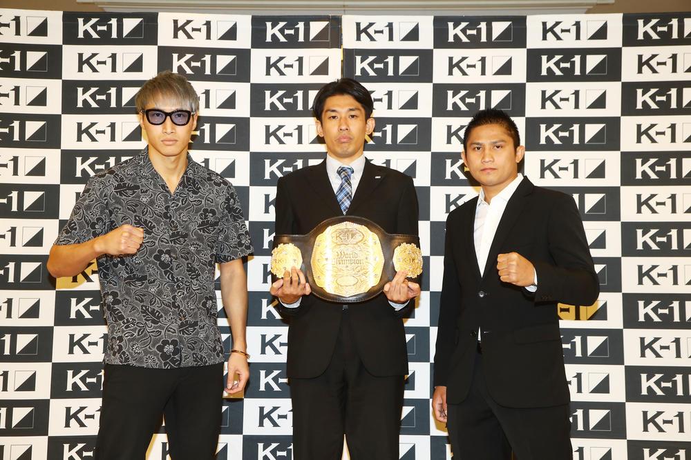 【K-1】王者・安保瑠輝也「クリンチだけはするなよ。完全にぶっ倒してやる」、挑戦者ゲーオ「今回は分かりやすいようにKO」