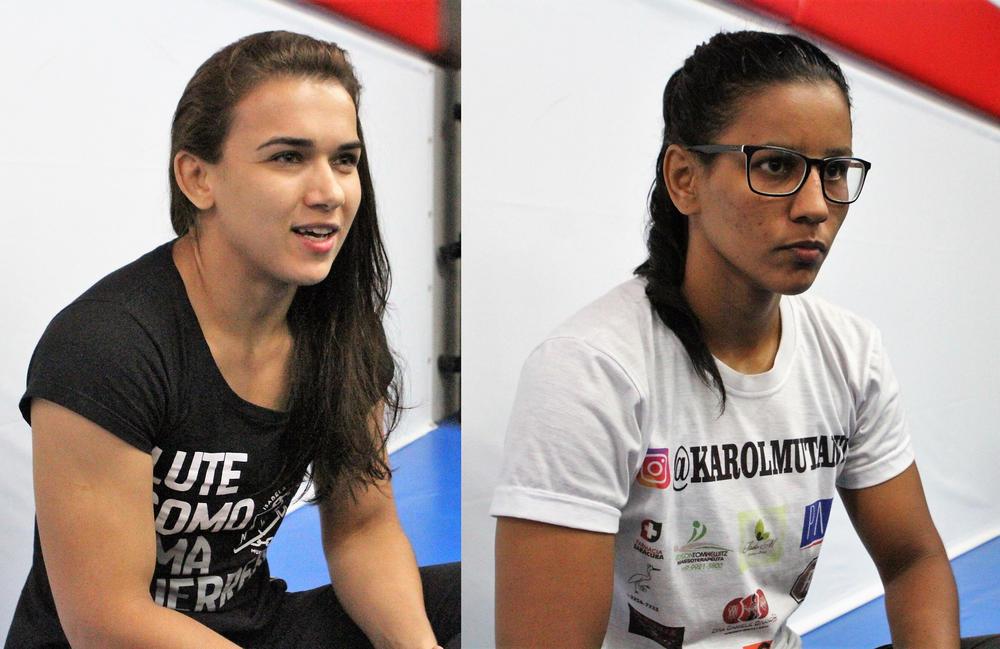 【PANCRASE】ブラジルからの女子2選手が公開練習で勝利宣言=10月20日(日)新木場