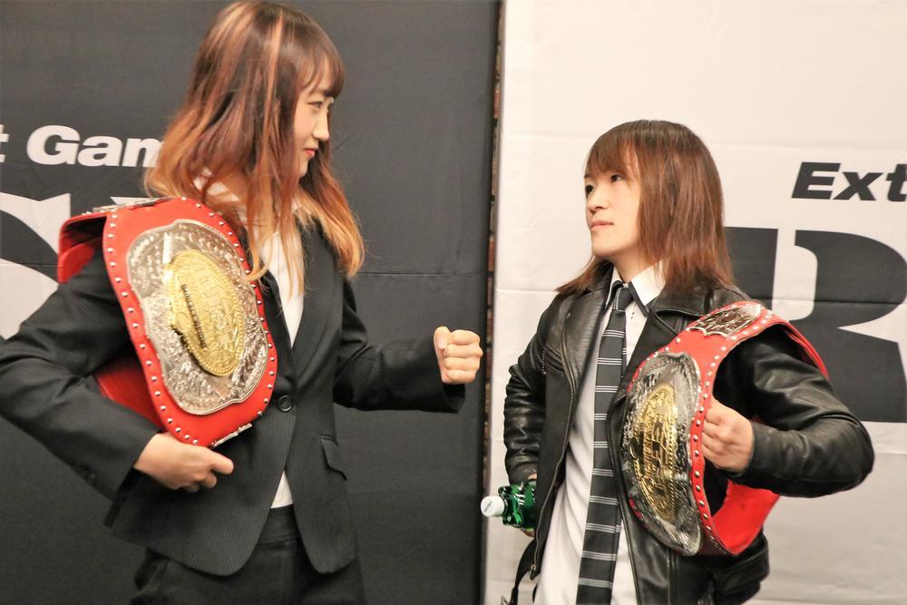 【RISE】寺山日葵「伝説の選手と呼ばれるような選手になりたい」、挑戦受ける紅絹は「現役生活の中で今が一番強い」